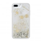 Kate Spade New York Liquid Glitter Clear Case for iPhone 7 / Favorite Things (Gold)
