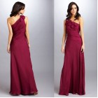 Mikael Aghal Occasion Dress | Burgundy (Size 12, 16)