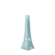 Small Eiffel Tower Shaped Vase (Blue)