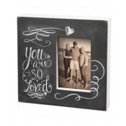 'You Are So Loved' Chalk Frame
