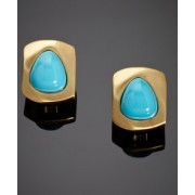 KENNETH JAY LANE Sea Stone Earrings