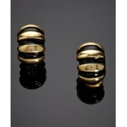KENNETH JAY LANE Snail Earrings