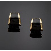 KENNETH JAY LANE Block Earrings
