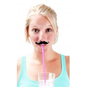 Fun Moustach Straws