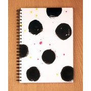 Tafaseel | Polka Dots A4 Notebook