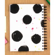 Tafaseel | Polka Dots A5 Notebook