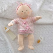 Rosy Cheeks Embroidered Baby Doll