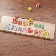My Name Personalized Puzzle Board- 2 Names