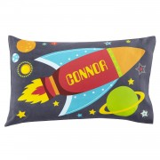 Boys' Sleepy-Time Pillowcase (Rocket)