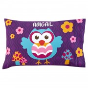 Girls' Sleepy-Time Pillowcase (Owl)