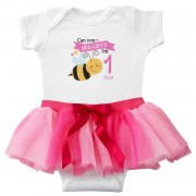 Sweeter Than Honey Birthday Bodysuit & Tutu