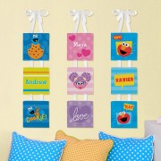 Sesame Street Name Canvas