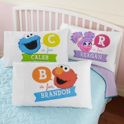That's My Name! Sesame Street Pillowcase