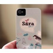 Personalized iPhone / iPad / Samsung Case (Glitz Design)