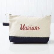 Personalized Canvas Pencil Case