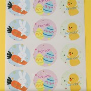 Cute Personalized Stickers (72 labels)