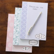 Pastel Colors Personalized Notepad