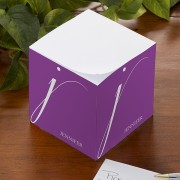Monogram Personalized Note Cube
