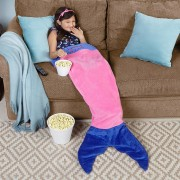 Personalized Mermaid Blanket
