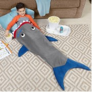 Personalized Shark Blanket