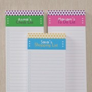 Dot To Dot Personalized Notepad (Set Of 3)