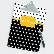 Preppy Chic Personalized Clipboard (3)