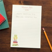 Wise Owl Personalized Notepad