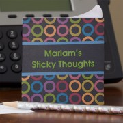 Thoughts Personalized Note Cube