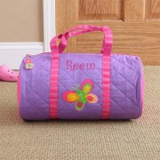 Butterfly Embroidered Sports Bag