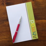 Personalized Boy Notepad
