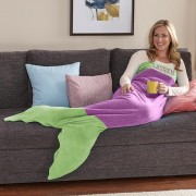 Personalized Mermaid Adult Blanket