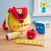 Personalized Sesame Street Elmo Backpack