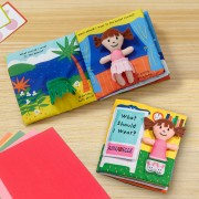 Personalized Melissa & Doug® What Should I Wear? Cloth Book